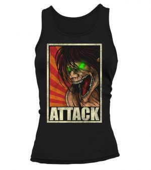 Débardeur Femme Attack On Titans Eren Titan