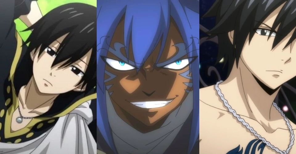 personnages fairy tail